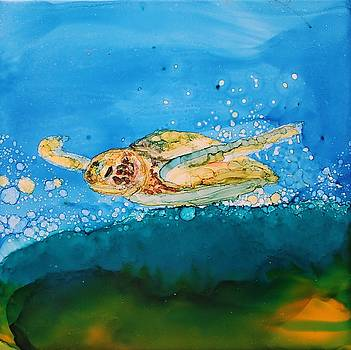 Ridin' The Wave by Ruth Kamenev