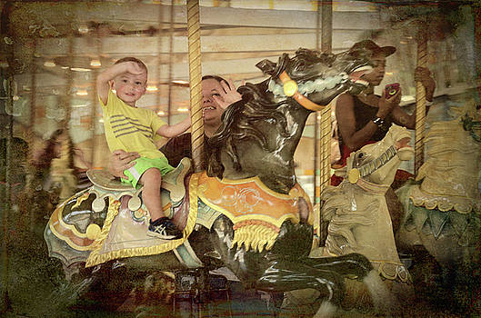 Riding Along On A Carousel by Jim Cook
