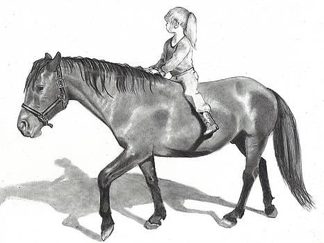 Joyce Geleynse - Riding Bareback
