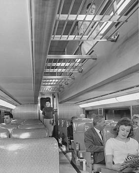 Chicago and North Western Historical Society - Riding Bilevel Passenger Train - 1958