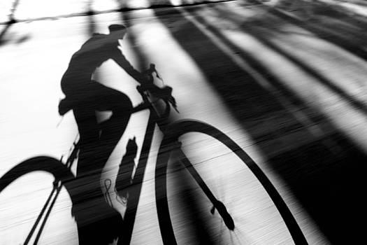 Riding Thru the Shadows by Jarmila Gorman