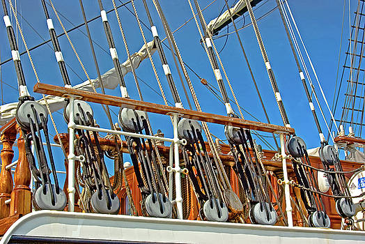 Rigging lines by Robert Brown