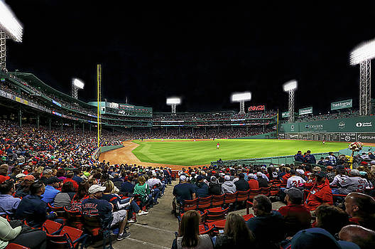 Juergen Roth - Right Field of Boston Fenway Park