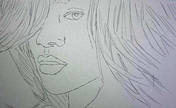 Rihanna by Kristen Diefenbach