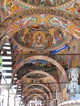 Rila Monastery in Bulgaria by Iglika Milcheva-Godfrey