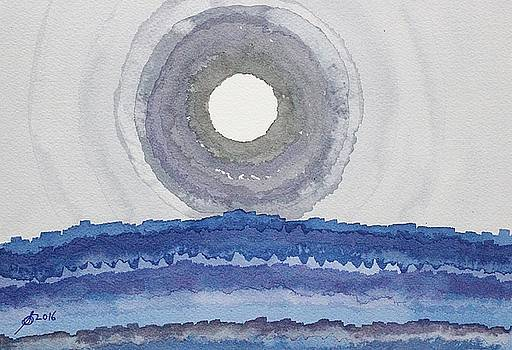 Rim of the Moon original painting by Sol Luckman