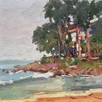 Rincon Beach by Camille Dellar