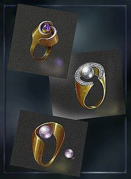 Ring  Designs by Hartmut Jager