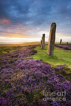 Ring of Brodgar, Orkney by Justin Foulkes