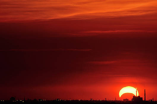 Ring of fire Solar Eclipse 52012 by Emanuel Love