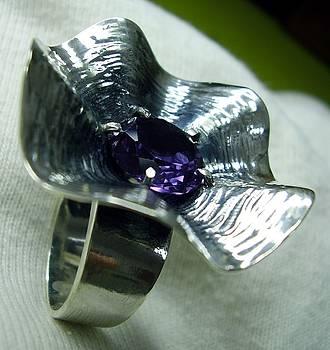 Ring Silver 925 Alexsandrit by Jonatan Kor