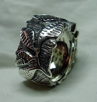 Ring silver 925-exclusiv by Jonatan Kor