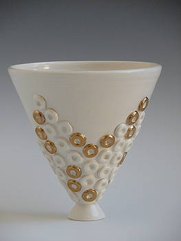 Ringed Vessel by Katherine Dube
