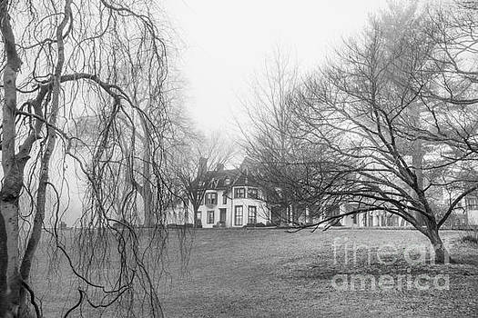 Ringwood Manor on a Foggy Morn by Jim DeLillo