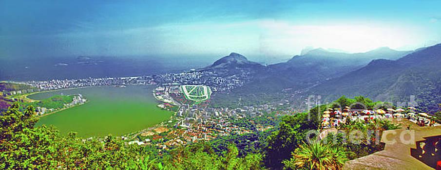 Rio De Janeiro Brazil Panorama by Larry Mulvehill