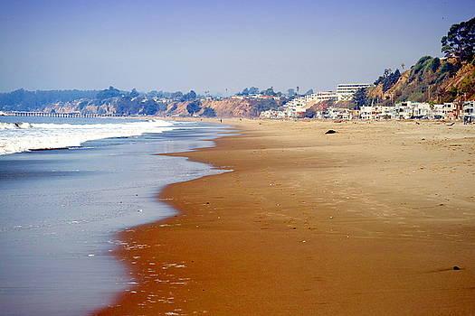 Rio Del Mar Beach Aptos by Joyce Dickens