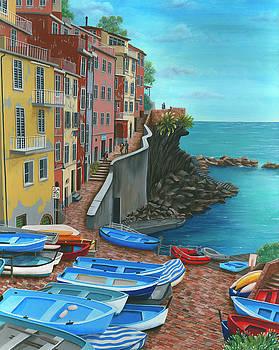 Riomaggiore by Debra Dickson