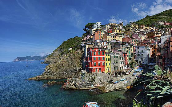 Riomaggiore Summer Resort In Cinque Terre Italy By Ioan Panaite