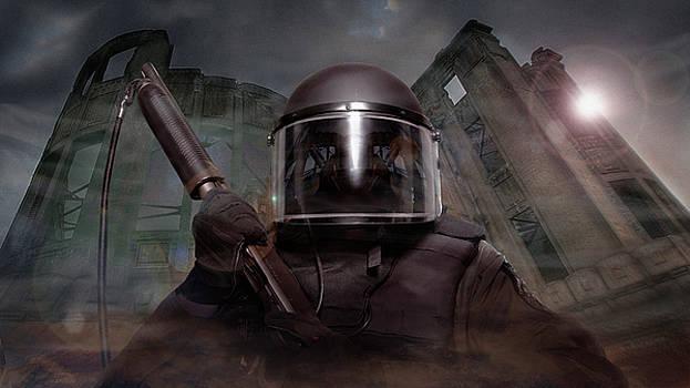James Vaughan - Riot Trooper