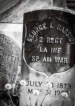 Kathleen K Parker - RIP Spanish Am War Soldier-NOLA