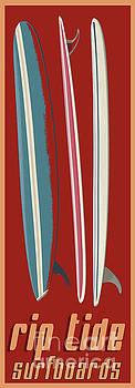 Rip Tide Surfboards Vintage by Edward Fielding