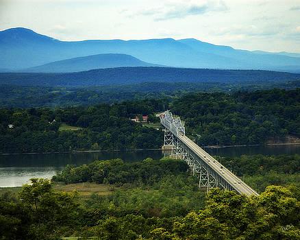 Rip Van Winkle Bridge by Bruce Carpenter