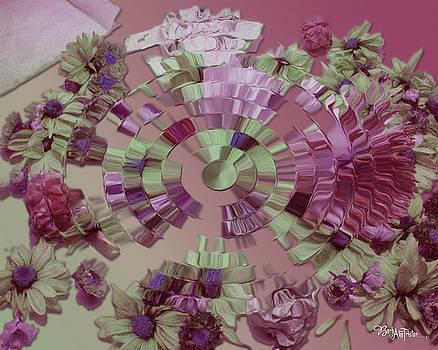 Rippling Mauve Delight #002 by Barbara Tristan
