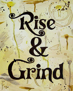 Rise and Grind 16x20 by Michelle Eshleman