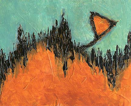 Rising Hope Abstract Art by Karla Beatty