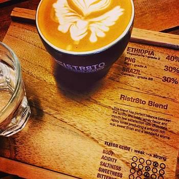#ristr8to #coffee #coffeeart by Kang Choon Wong