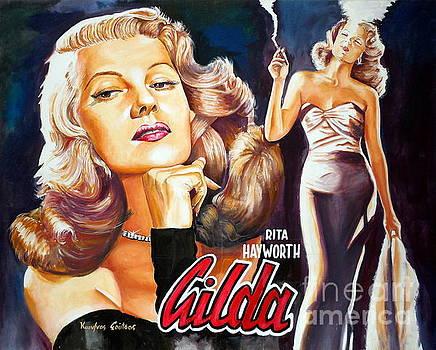 Rita Hayworth - Gilda by Spiros Soutsos