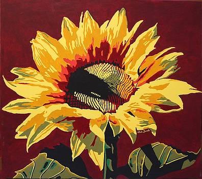 Rita's Sunflower by Gail Zavala
