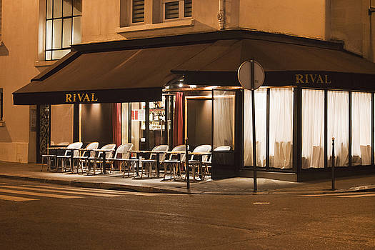 Art Block Collections - Rival Cafe in Paris