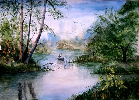 River 003 by Shashikanta Parida