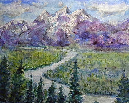 River and Rockies by David Frankel
