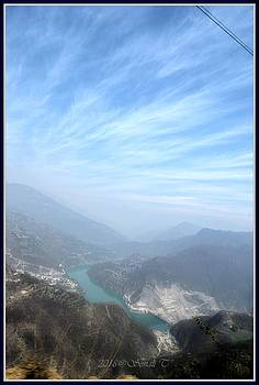 River Bhagirathi by Sonali Gangane