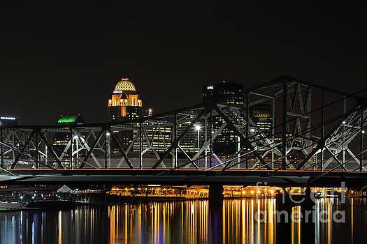 Bob Phillips - Ohio River Bridges and Louisville Skyline