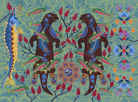 River Spirit by Chholing Taha