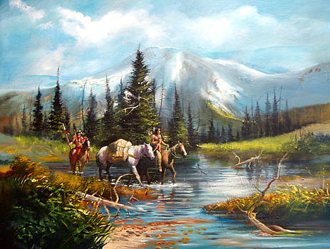 River Crossing by Robert Carver