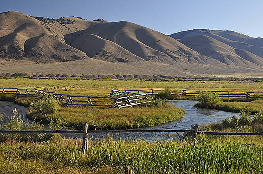 River Fence by Brent Easley