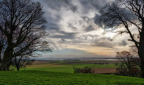 River Forth view from Clackmannan Tower by Jeremy Lavender Photography