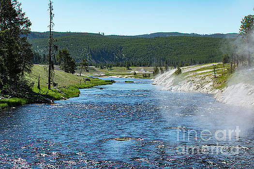 River in Yellowstone by Eric Killian