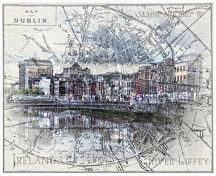 Sharon Popek - River Liffey Dublin
