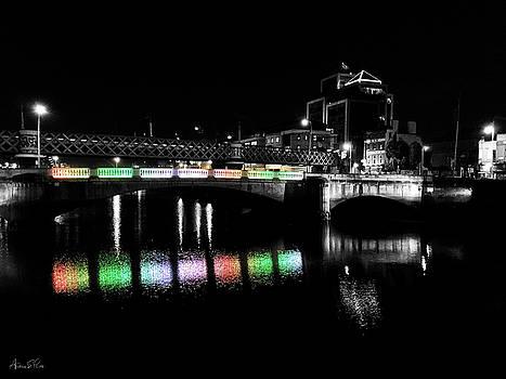 River Liffey Reflections by Andrea Platt
