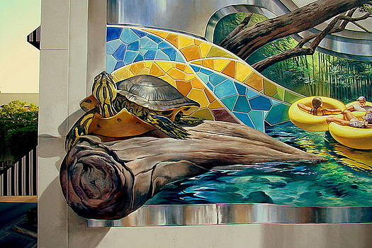 River Mural by Keith  Goodson