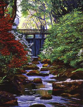River Of Azaleas by David Lloyd Glover