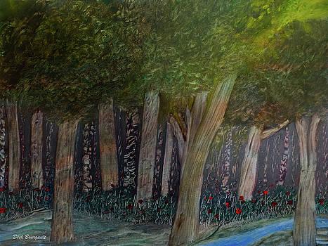 River of Lightness original by Dick Bourgault