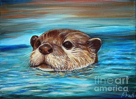 River Otter  by Kirsten Sneath