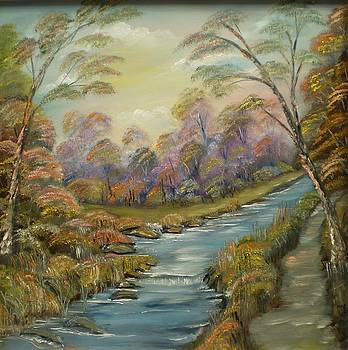 River Pathway by Noel Barry