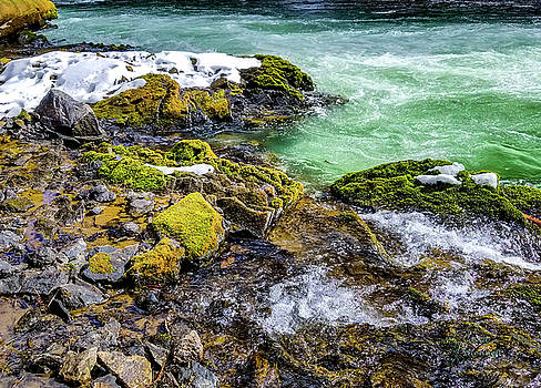 River Pool by David Millenheft